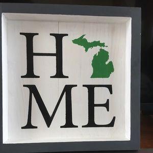 Home Michigan Sign Decor